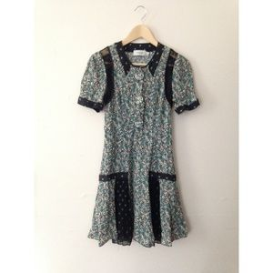 Coach 1941 patchwork prairie blossom dress